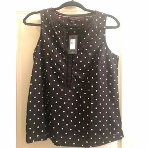 NWT - Tommy Hilfiger sleeveless top